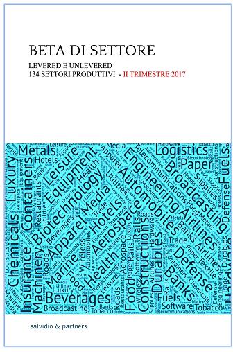 Beta di settore - II trimestre 2017