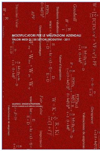 Moltiplicatori per le valutazioni aziendali - 2011