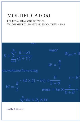 Moltiplicatori per le valutazioni aziendali - 2013