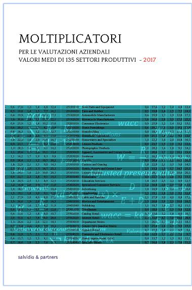 Moltiplicatori per le valutazioni aziendali - 2017