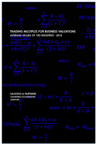 Trading Multiples for Business Valuations – 2012