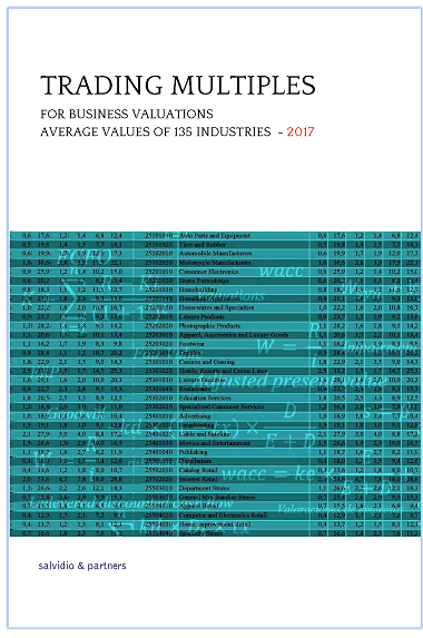 Trading Multiples for Business Valuations - 2017