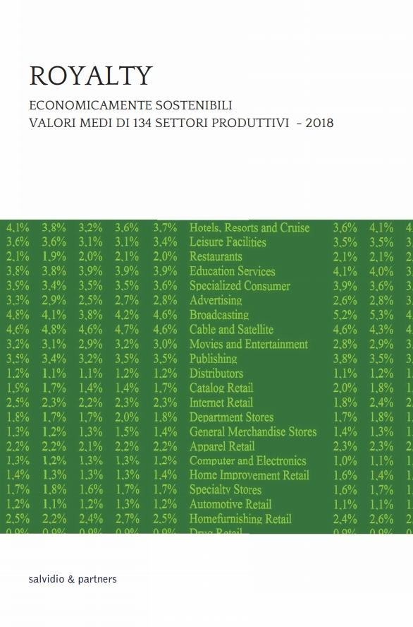 Royalty economicamente sostenibili - 2018