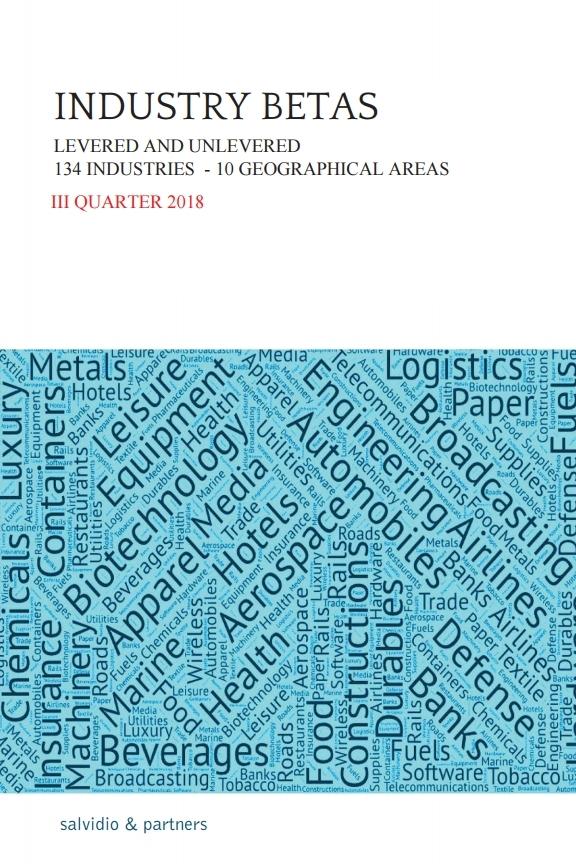 Industry Betas - III Quarter 2018